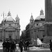 Piazza del Popolo - Rome under the snow