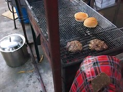 Burgers, Sunday at The Training Shed