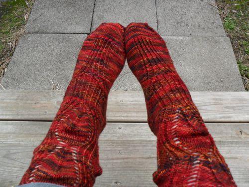 Dragon Crystal Socks