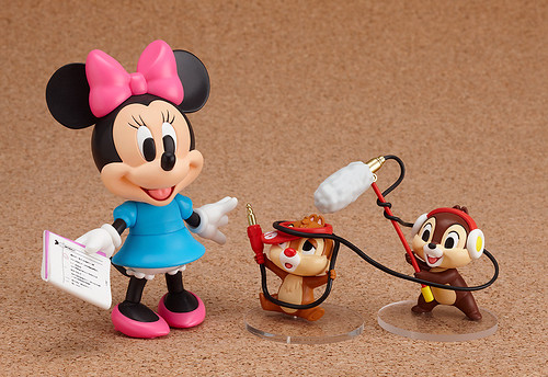 Chip and Dale are also included