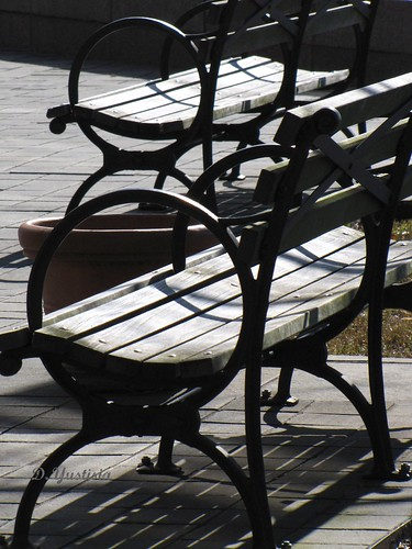 Benches at Battery Park City