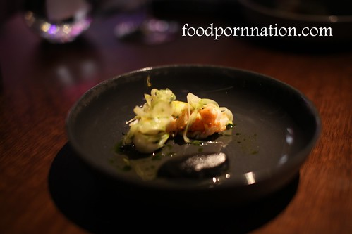 marron, fennel and dill