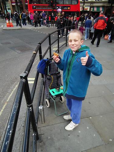 PG Tips Tea Break on Trafalgar Square