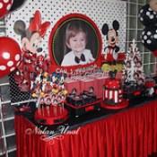 Kalamış Divan'da Mickey Mouse temalı doğum günü partisi