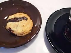 Pecan chocolate cookie, Liberty Coffee, Rangoon Road