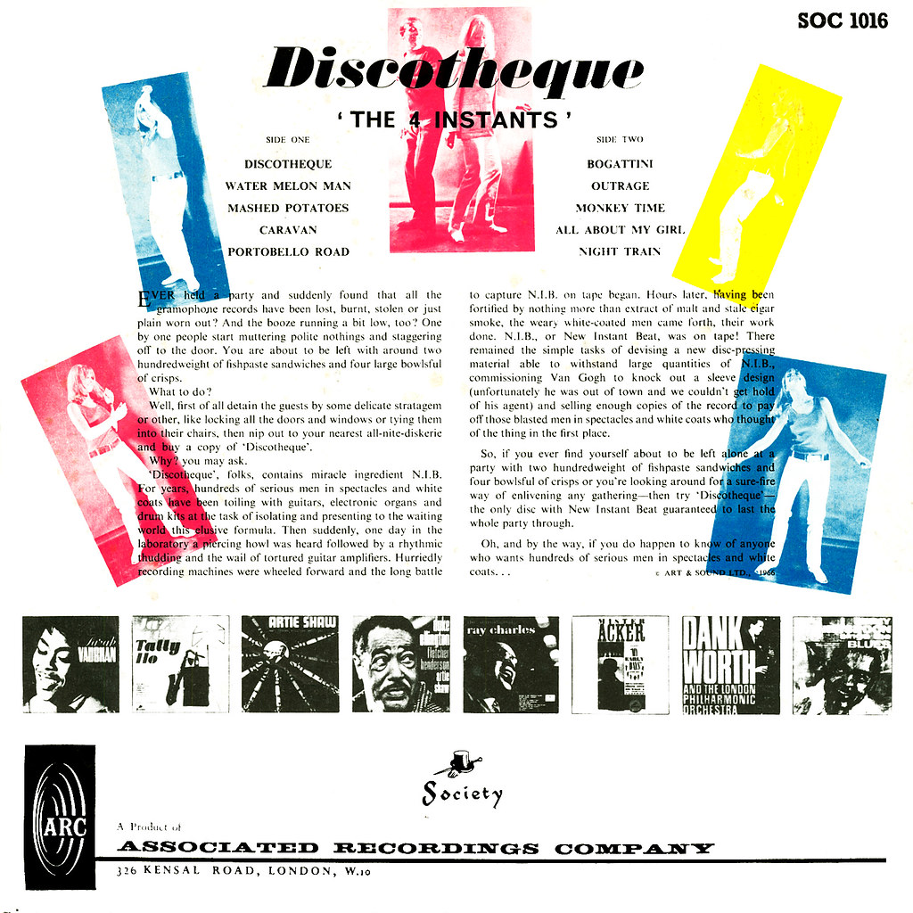 The 4 Instants - Discotheque