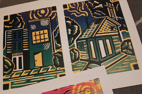 20120308. House block prints.