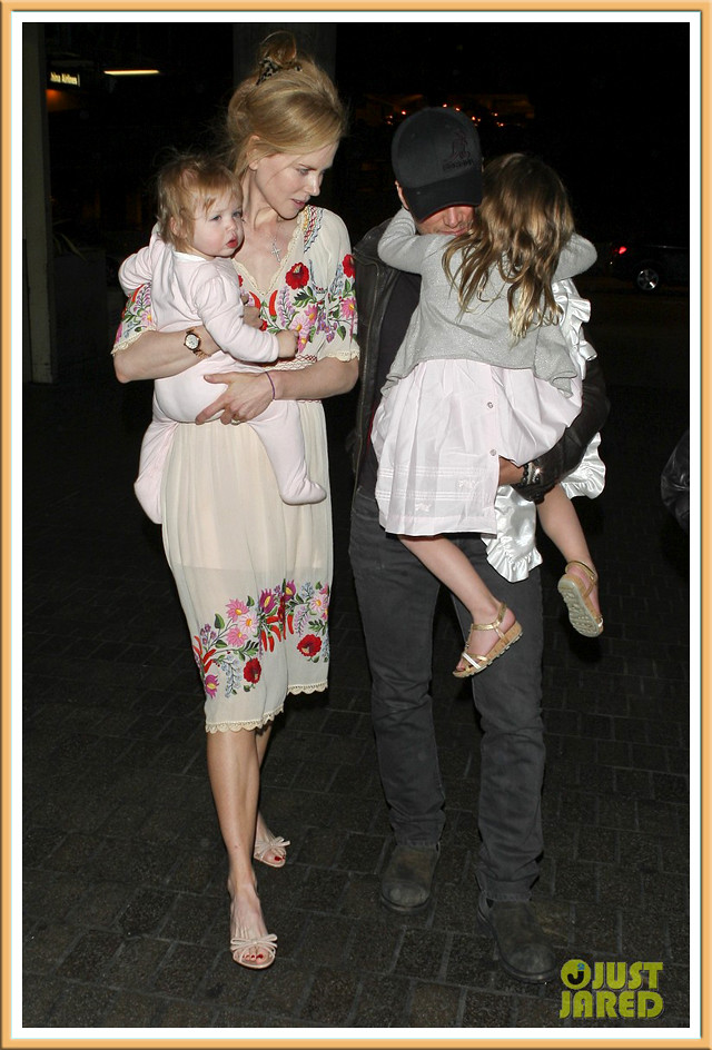 Nicole Kidman, Keith Urban, Sunday, Faith