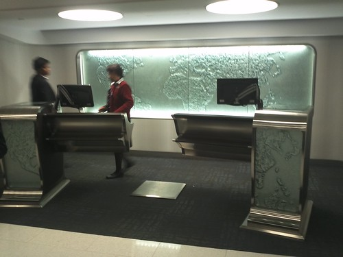 Flagship Check In Desk
