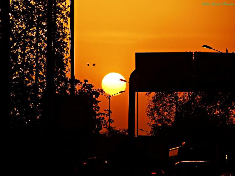 A Delhi evening