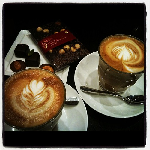 Our weekly choc & caffeine fix