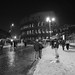 Colosseum - Rome under the snow