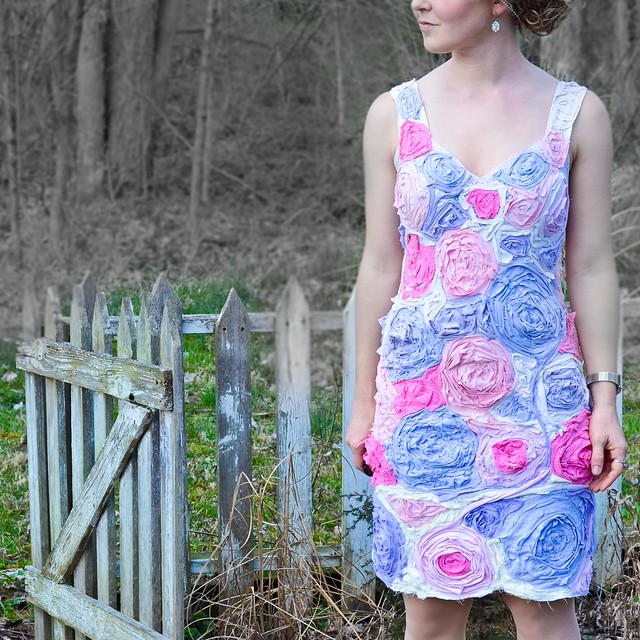 DIY Flower Dress