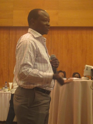 Moses Nyabila, EADD regional leader, sets the scene