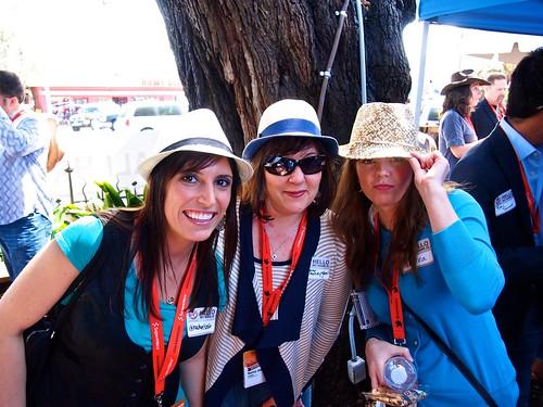 Rachel Seda (@rachelseda), Nancy Cawley Jean (@nancycawleyjean) and Andrea Burkhart @mchgn_grl