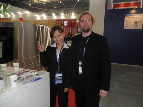 work exhibition in Shanghai