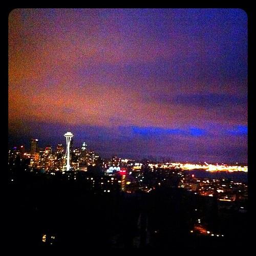 Seattle vue de touriste