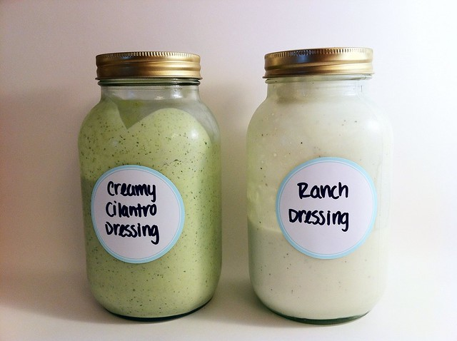Homemade Dressings