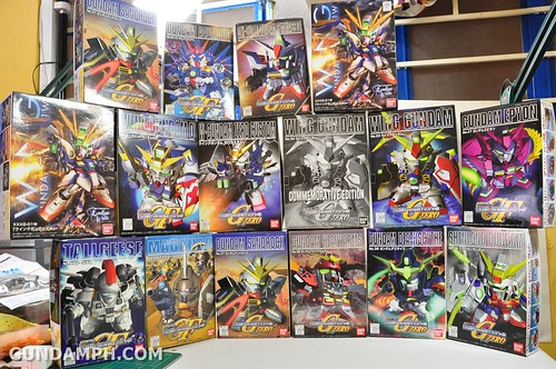 SD Gundam Wing Series Kit List (3)