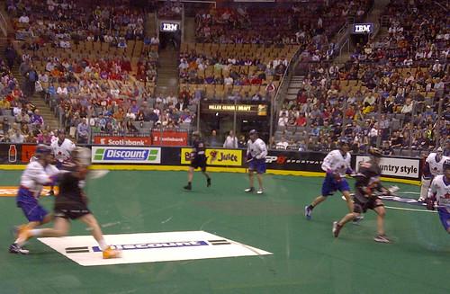 Toronto Rock and Buffalo lacrosse game