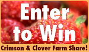 Giveaway: Crimson & Clover Farm Share
