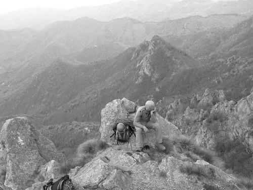 Alpinista d'epoca