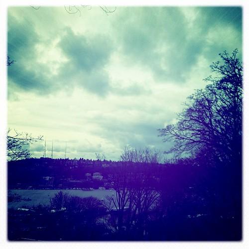 Memory of moody Seattle skies