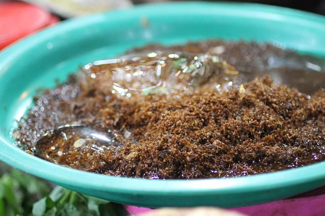 Siem Reap local market (ants)