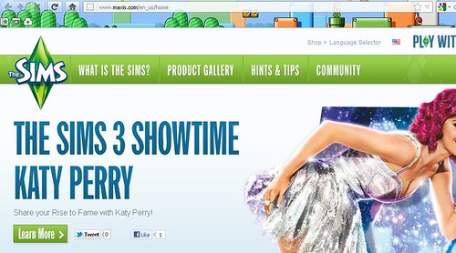 Maxis.com Now Redirects to The Sims Franchise Site?
