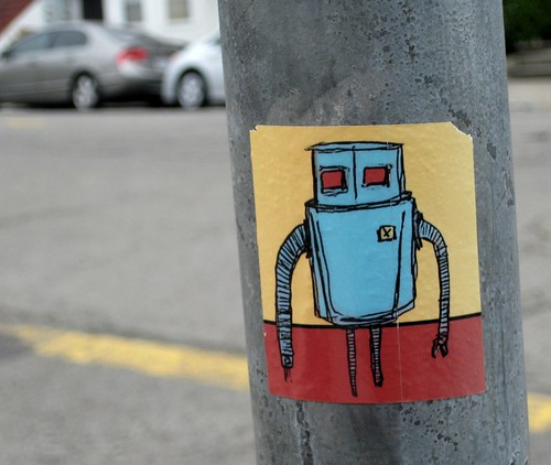 I Love Robots by dyannaanfang