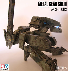 ThreeA Toys MG 1-48 METAL GEAR REX (4)