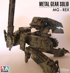 ThreeA Toys MG 1-48 METAL GEAR REX (4)