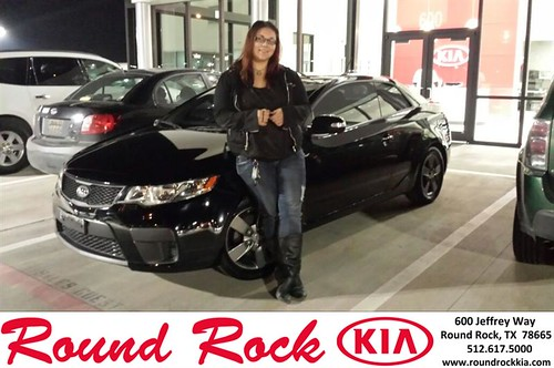 Congratulations to Victoria  Pierce on your #Kia #Forte Koup purchase from Kelly  Cameron at Round Rock Kia! #NewCar by RoundRockKia