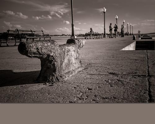 walking dock by Rey Cuba