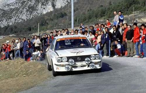 Opel Ascona 400 - Montecarlo 1983