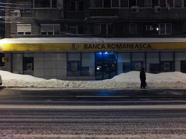 Bucureștiul sub nămeți