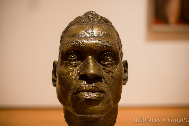 Face-Bronze Head