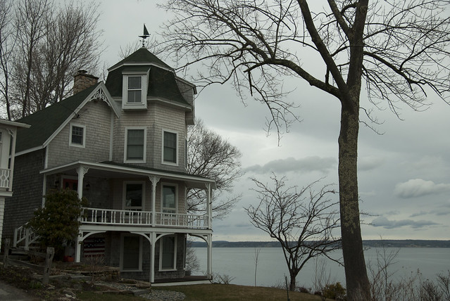 house on the bay