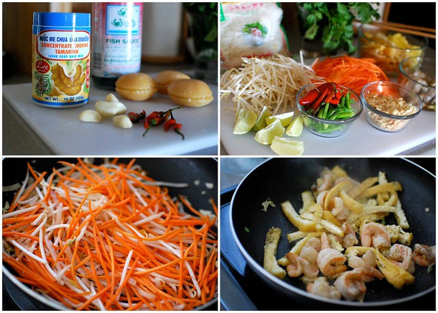 Shrimp and Tofu Pad Thai