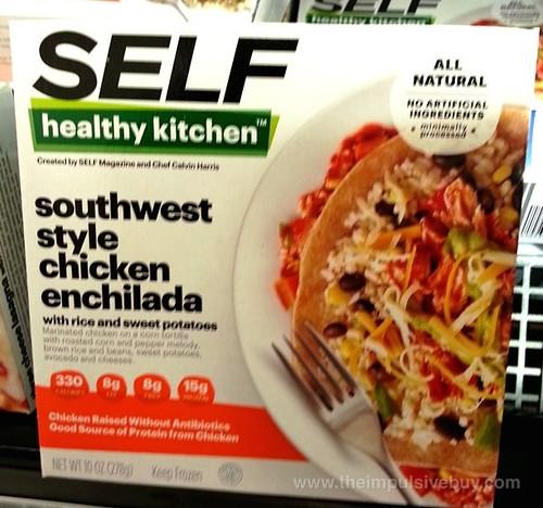 SELF Healthy Kitchen Southwest Style Chicken Enchilada