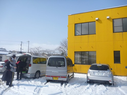 南相馬で側溝掃除ボランティア Volunteer at Minamisoma city, Fukushima pref., Damaged by the Tsunami of Japan Earthquake and Fukushima Daiichi nuclear plant accident