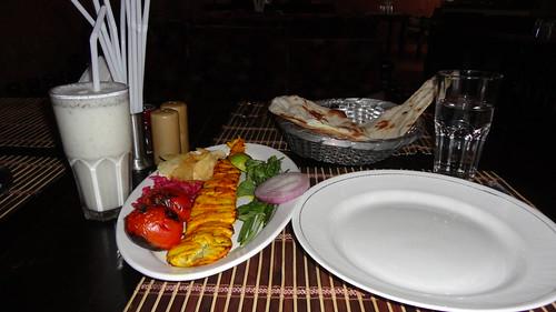 Joojeh Kabab and Doogh
