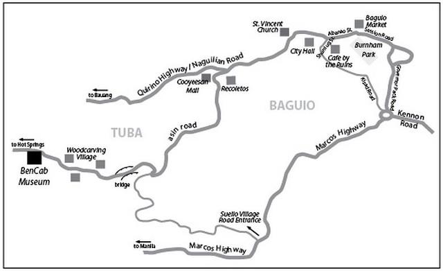 Bencab Map