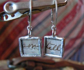 Forgotten Words Beeswax Infused Earrings