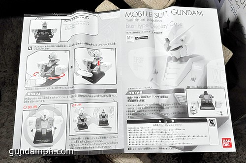 MSG RX-78-2 Bust Type Display Case (Mobile Suit Gundam) (14)