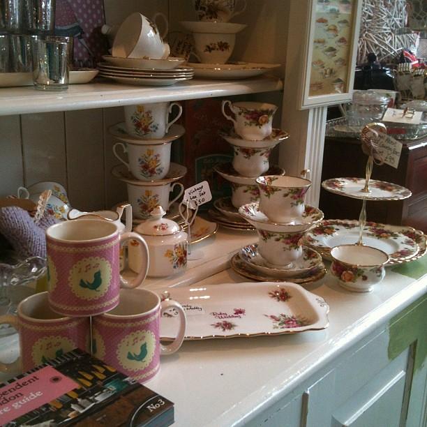 Tea cup heaven.
