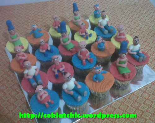 Cupcake The Simpson Family
