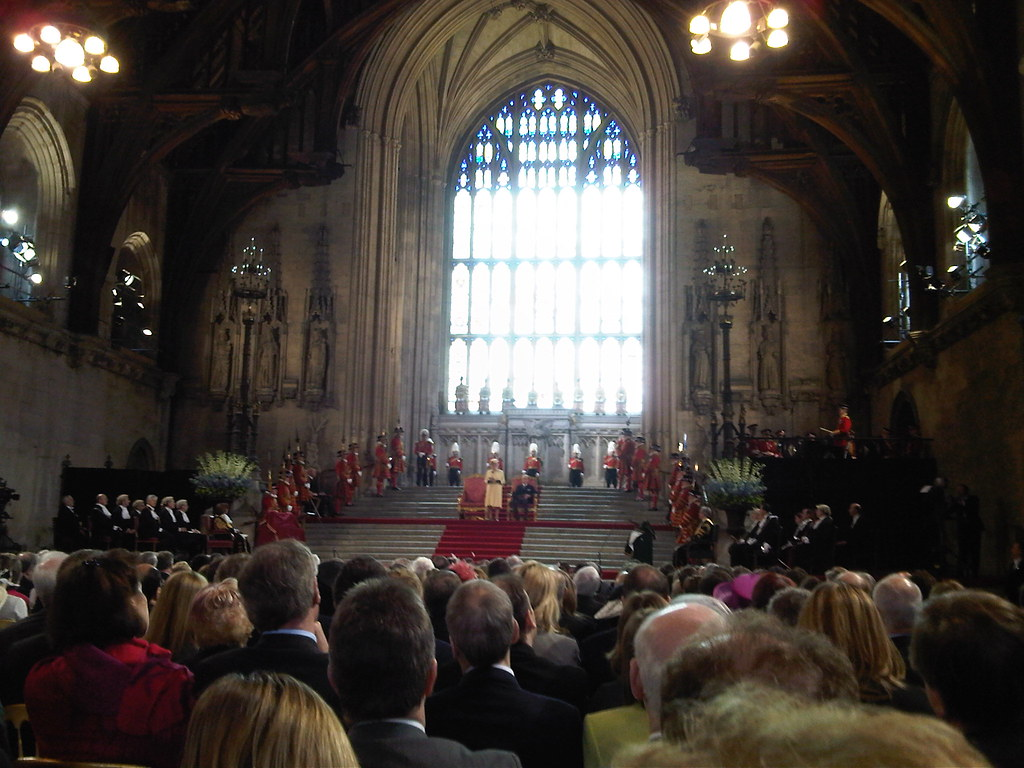 The Queen Addresses the Houses of Parliament