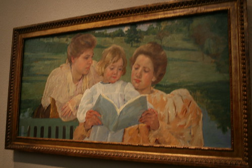 Family Group Reading-M. Cassatt
