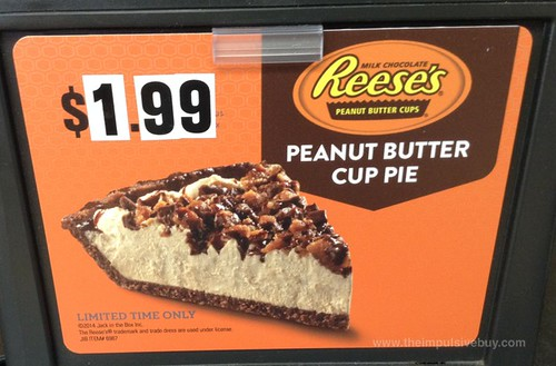 Jack in the Box Reese's Peanut Butter Cup Pie